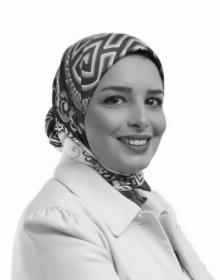 Retrato de Hanaa Zbakh